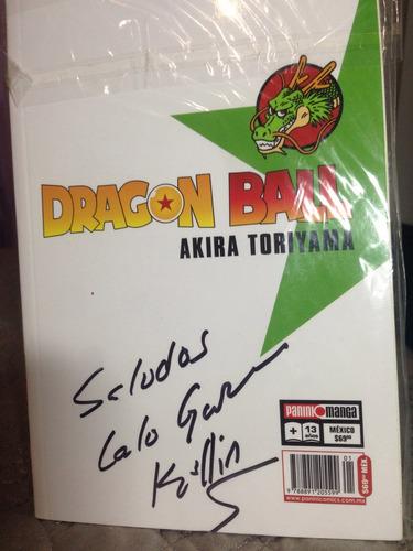manga dragon ball tomo #1 (autografiado)