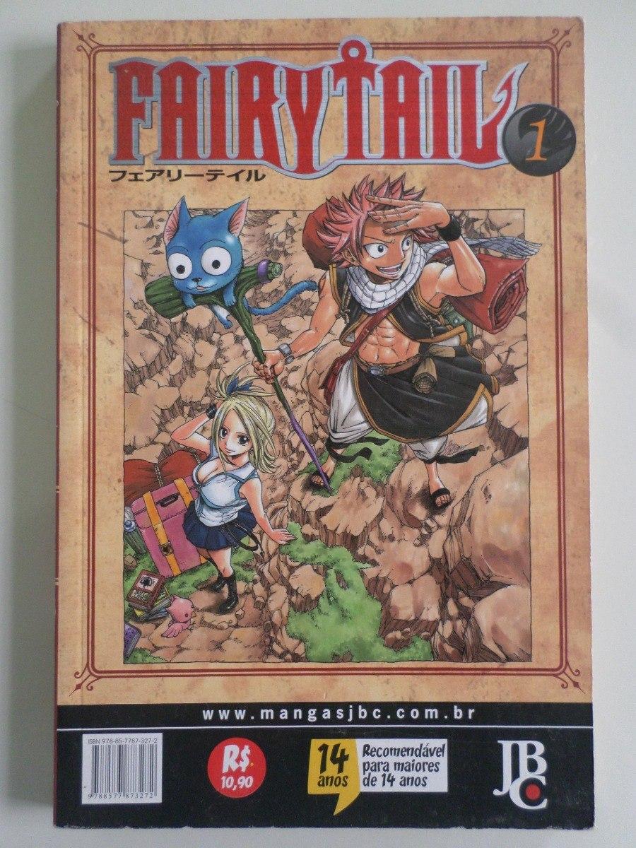 Manga Fairy Tail 1 Temos Mais Edicoes