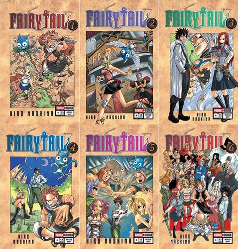 manga fairy tail tomos del 1 al 14 precio c/u panini