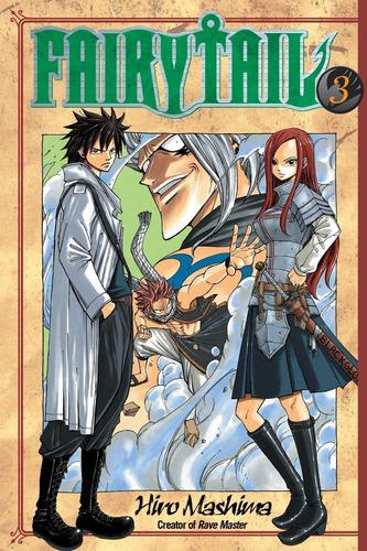 manga fairy tail vol. 3 en ingles original nuevo y sellado