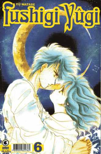 mangá fushigi yûgi nº 6 conrad editora quadrinhos japoneses