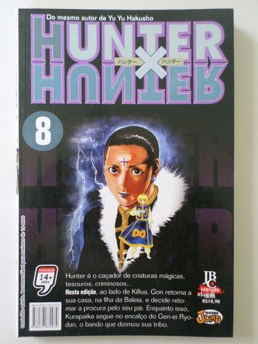 manga hunter x hunter 8 temos mais edições