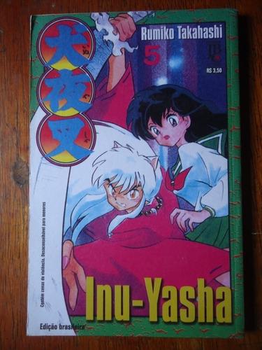 mangá inuyasha ( inu-yasha )  volume 05  - raríssimo !