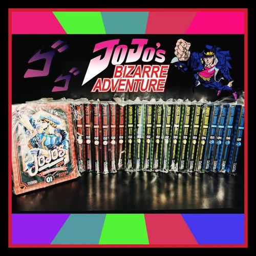 manga jojo's bizarre adventure: battle tendency envio gratis