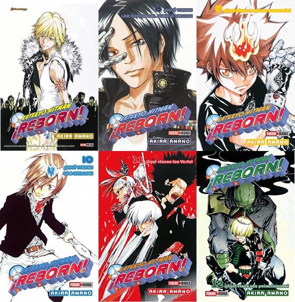 Manga Katekyo Hitman Reborn Tomos 7 A 23 Precio C/u Panini