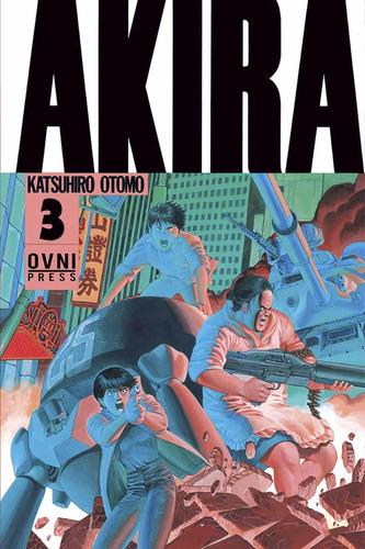 manga, kodansha, akira vol. 3 ovni press