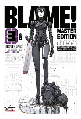 manga, kodansha, blame master edition vol. 3 ovni press