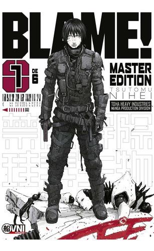 manga, kodansha, pack blame! master edition vol. 1 y 2 ovni