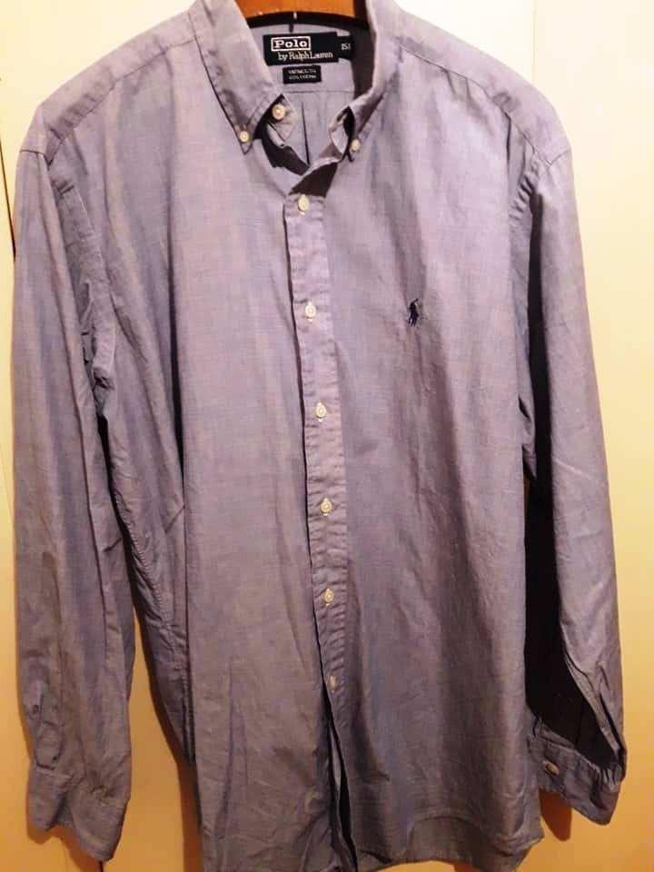 Camisa Hombre Manga Larga Polo Ralph Lauren Italia Talle Xl -   700 ... 1797b33663c7e