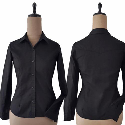 manga larga camisas mujer