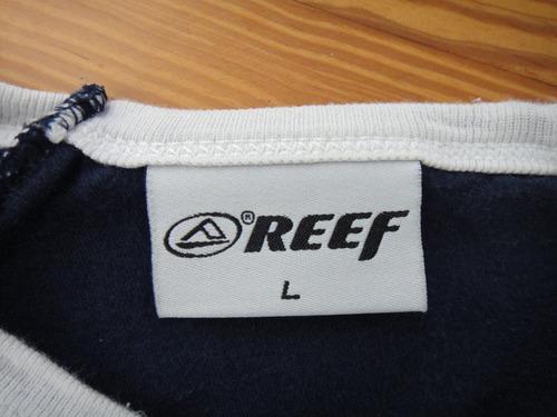 manga larga reef remera