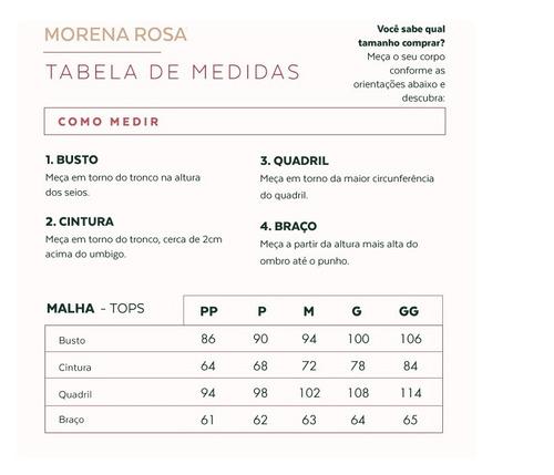 70e8b2b4c6 Blusa Decote Canoa Manga Longa Tela Azul - Morena Rosa 07516 - R ...
