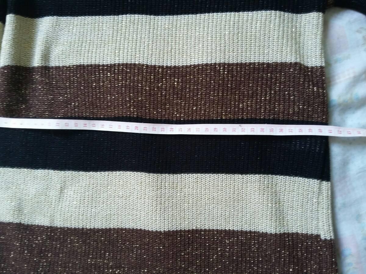 6d0b07c3c Blusa Frio Linha Manga Longa Marrom Dourada - R  45