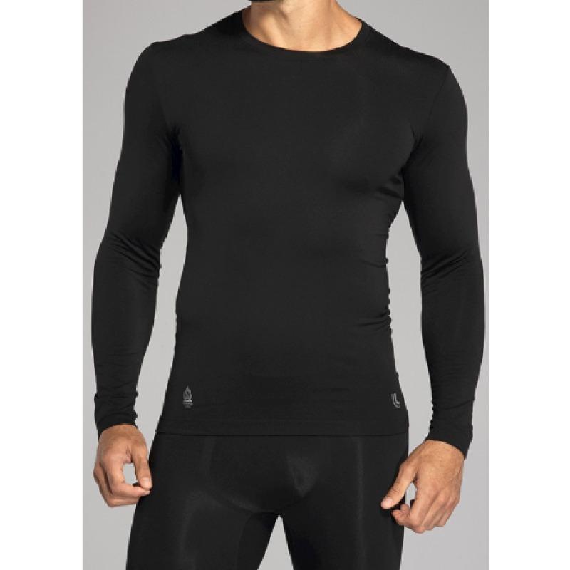 Kit Térmico Masculino Camiseta Manga Longa + Calça Warm Lupo - R ... 6a069e383636c