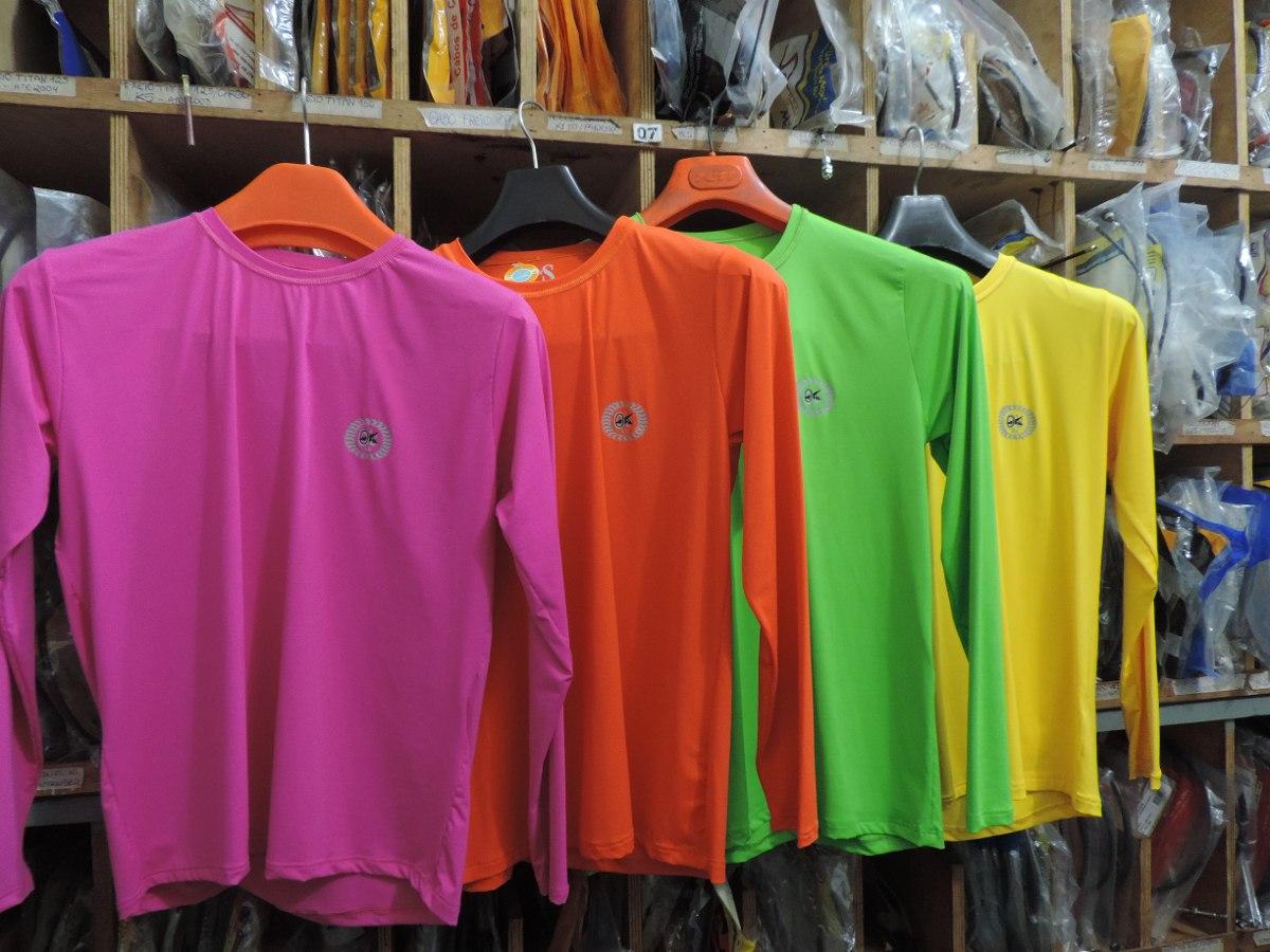 379c223411 Camisa Uv Infantil Manga Longa Protetora - R  59