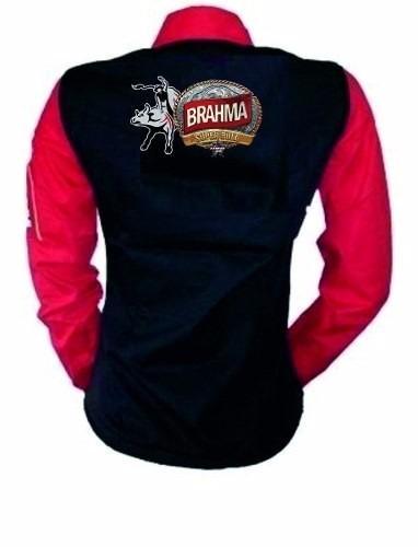 c6ef6d81e6f97 Camisa Manga Longa Rodeio Brahma Feminina Promoção - R  135
