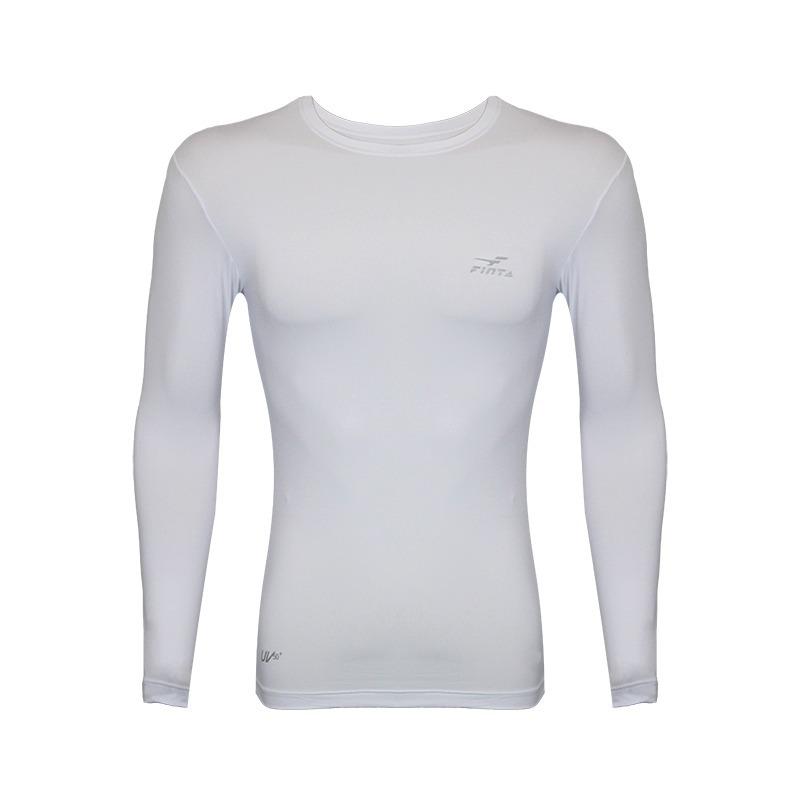 5941e5b62918b Carregando zoom... camisa térmica compressão finta manga longa feminina