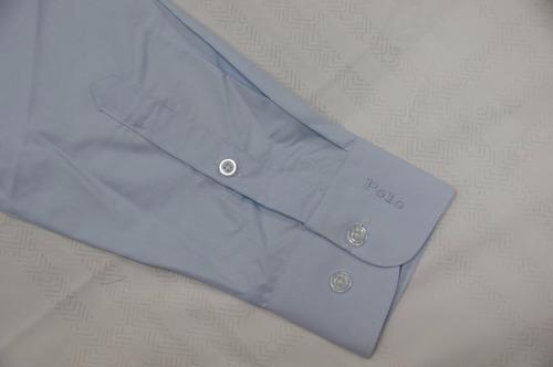 manga longa camisa social