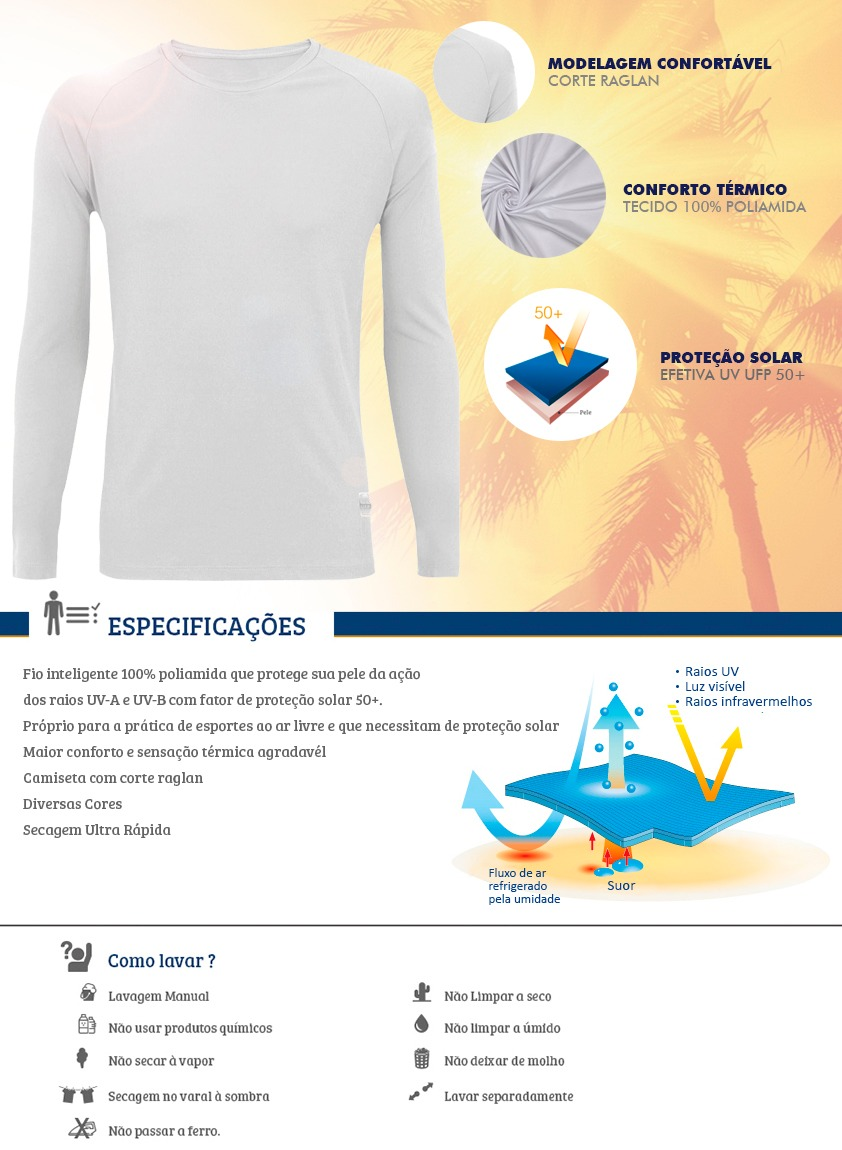 0e1caa3865 Carregando zoom... promoção camiseta king sun brazil manga longa mega oferta
