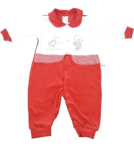manga longa macacão bebê
