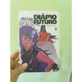 Mangá Mirai Nikki Diário Do Futuro Volume 2