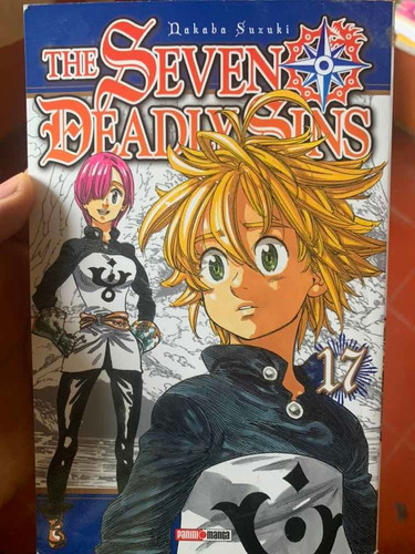 manga nanatsu no taizai, volumen  17