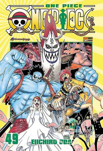 mangá - one piece nº 49 panini