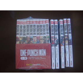 Mangá One Punch-man 17 Volumes Lacrados