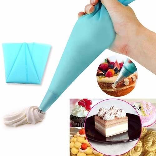 manga pastelera silicon, reusable. repostería, pastelería.