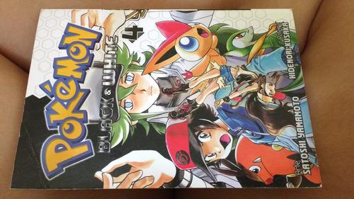 mangá pokémon black & white edição 4