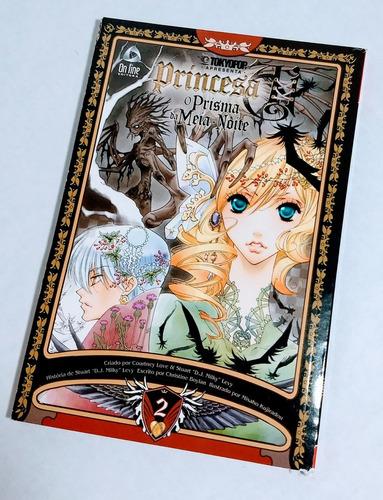 mangá princesa ai o prisma da meia noite volume 2