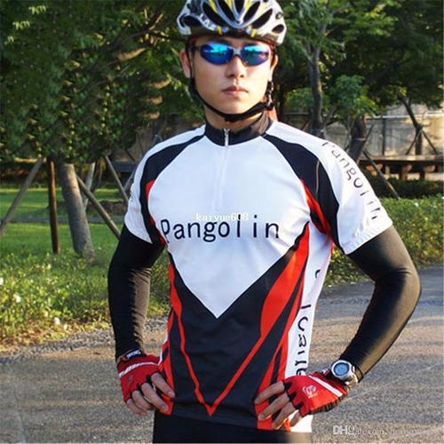 manga protetor solar marrom bike treino exercício 30% off