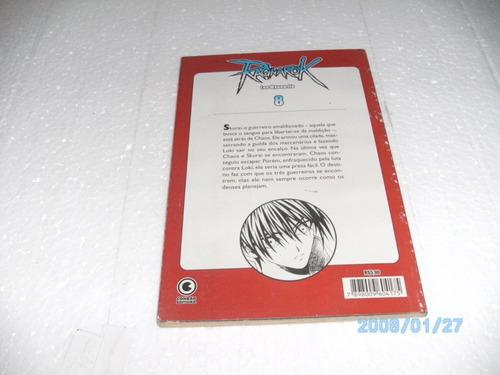 mangá ragnarok 8 - ed. conrad # lee myung jin