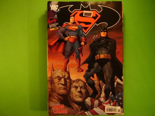 mangá  raridades  colecionador  hq  superman e batman vol-05