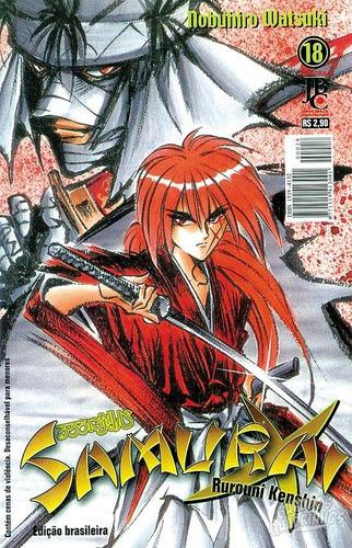 mangá - samurai x nº 18