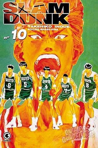 mangá - slam dunk nº 10