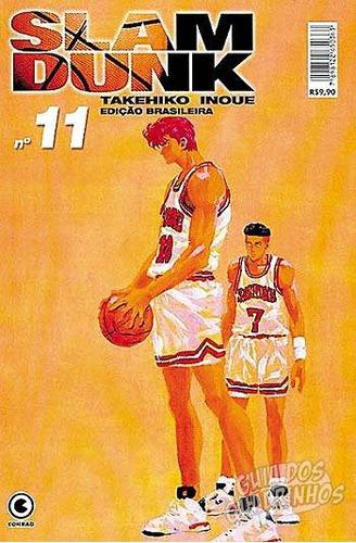 mangá - slam dunk - nº 11