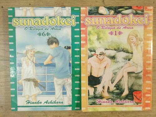 mangá  sunadokei. lote #1 e 6