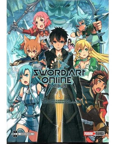 manga sword art online calibur nuevo - jxr