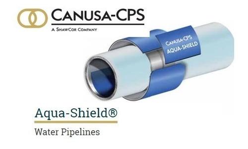 manga termocontractil aqua-shield 18 pulg con sello incluido