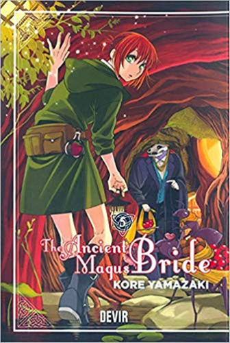 mangá - the ancient magus bride (pt) - vol. 5