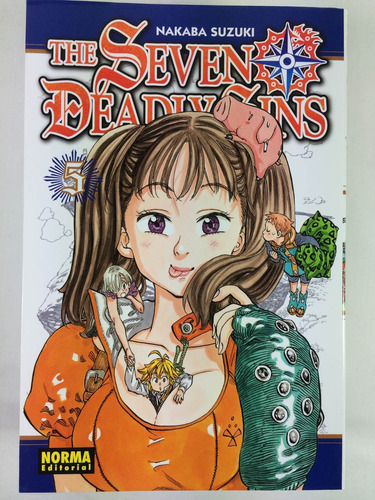 manga the seven deadly sins #5