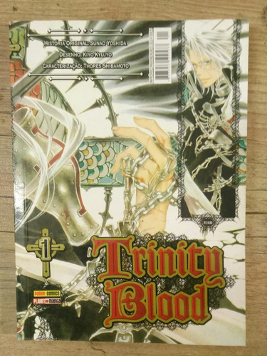 mangá trinity blood #1