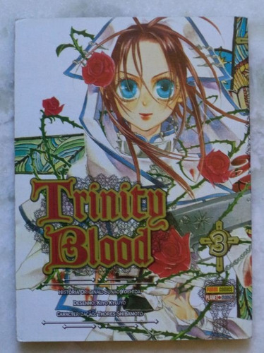 mangá trinity blood nº 9