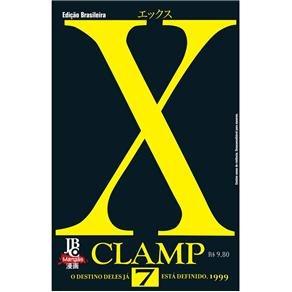 mangá - x/1999 clamp nº 07