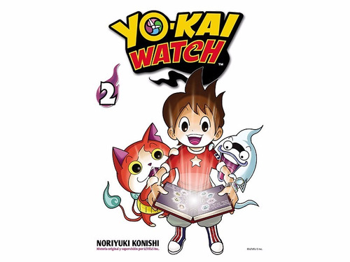 manga yokai watch tomo 02 - mexico