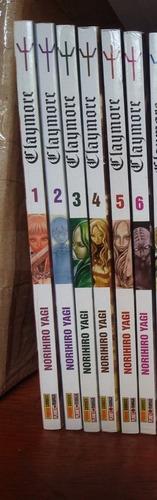 mangás claymore volumes 01 ao 06