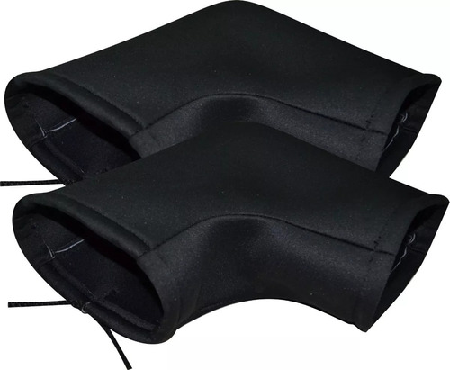 mangas cubre puños moto cordura repele agua interior friza