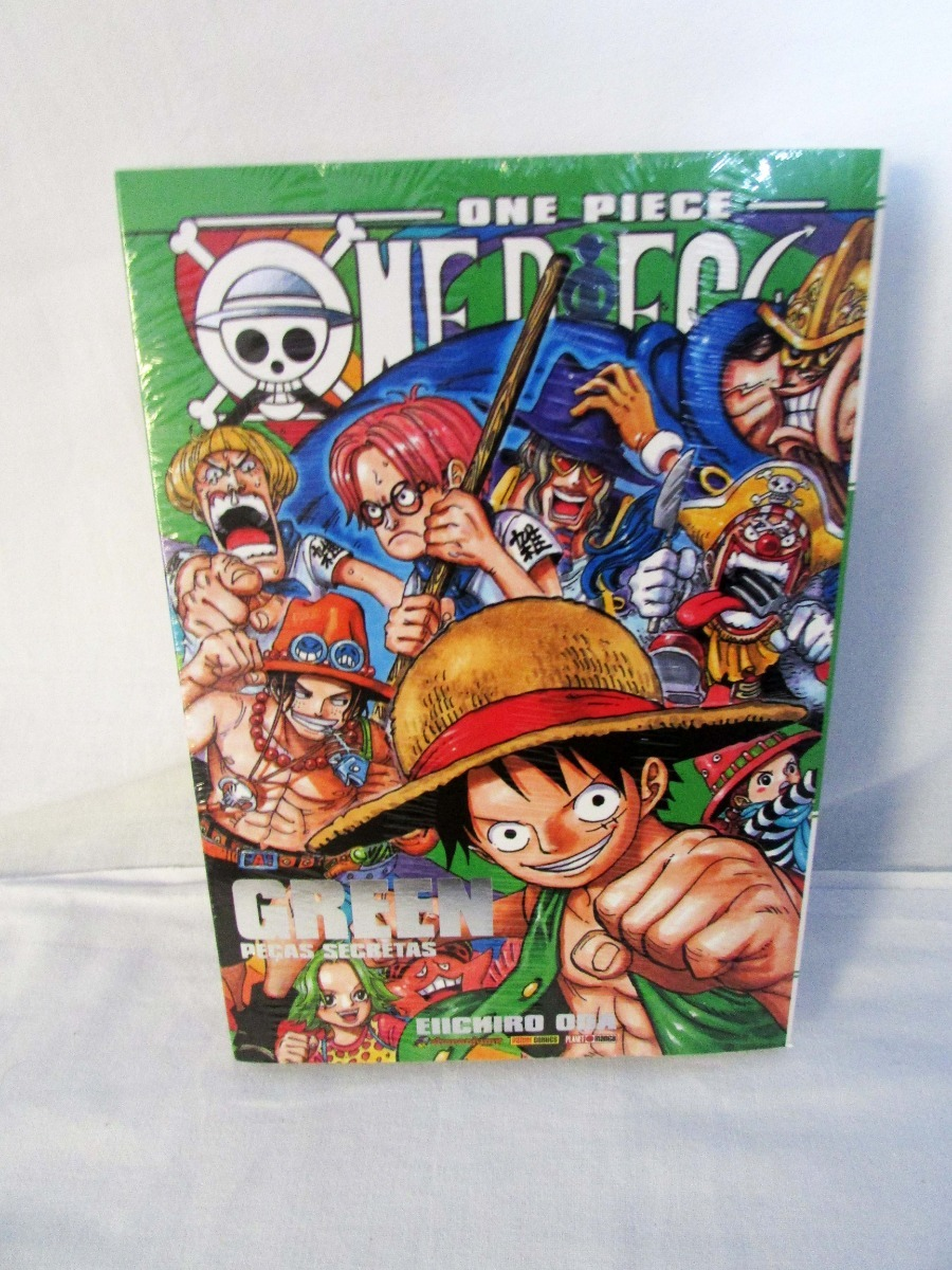 Mangás Databook One Piece Blue 16ad54a2884