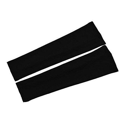 mangas de brazo de compresión deportiva, material de licra,